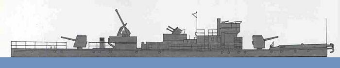 Drawing - Ship's profile