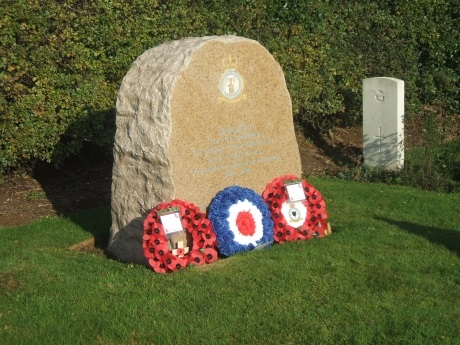 The Coltishall Remembrance Stone at Scottow.