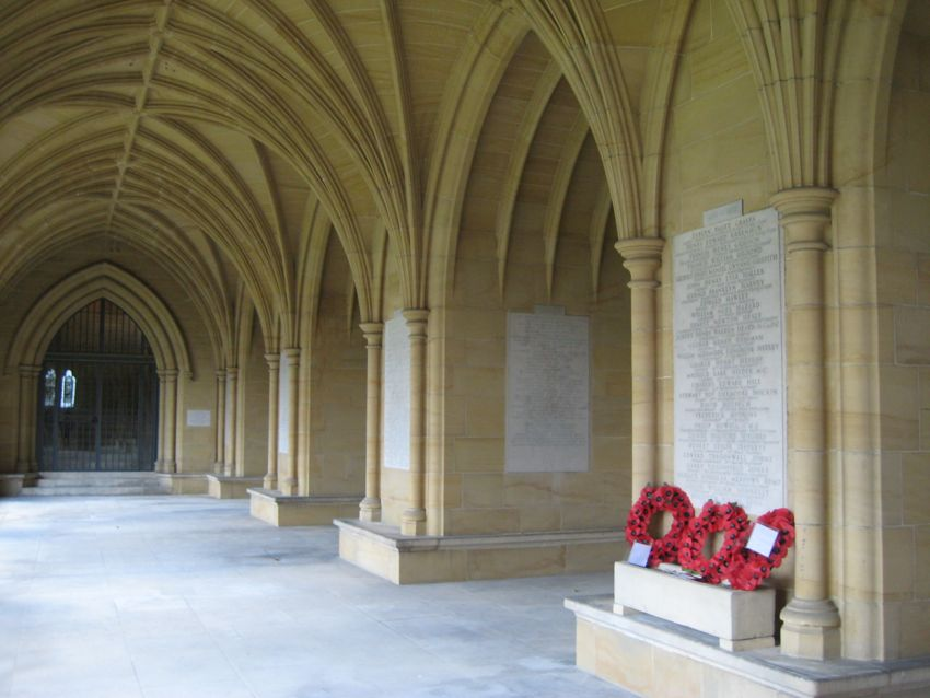 Lancing College Cloister
